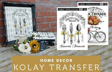 Cadence Home decor Kolay Transfer