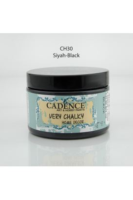 Cadence Very Chalky Home Decor Siyah 150ml