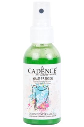 Cadence Your Fashion Sprey Kumaş Boyası Çimen 100ml
