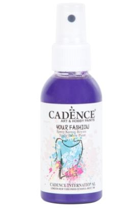 Cadence Your Fashion Sprey Kumaş Boyası Mor 100ml