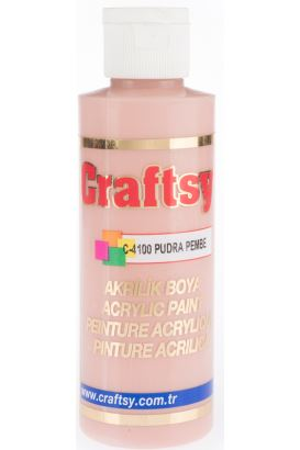Craftsy Boya Pudra Pembe 118ml