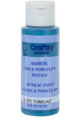 Craftsy Akrilik Enamel Turkuaz 59ml