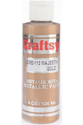 Craftsy Boya Majestik Altın 118ml