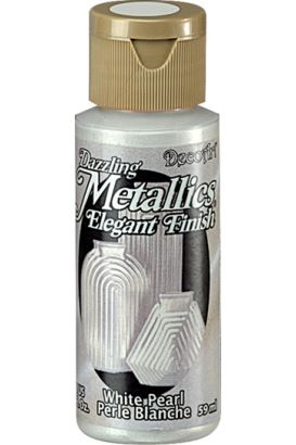 Decoart Metallıc Acrylıc Boya  White Pearl 59ml