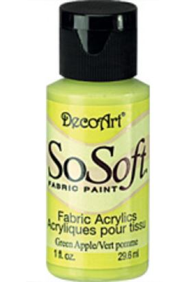 Decoart Sosoft Acrylıc Boya Green Apple 29ml