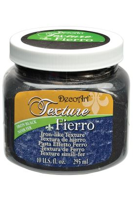 Decoart Texture Paste  IRON BLACK 295ml