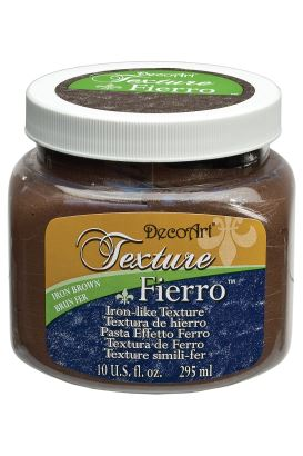 Decoart Texture Paste  IRON BROWN 295ml