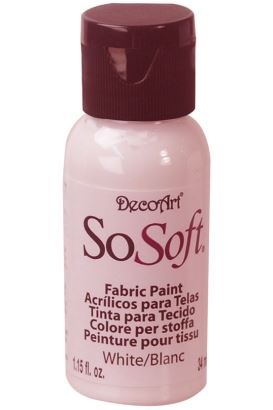 Decoart Sosoft Acrylıc Boya White 29ml