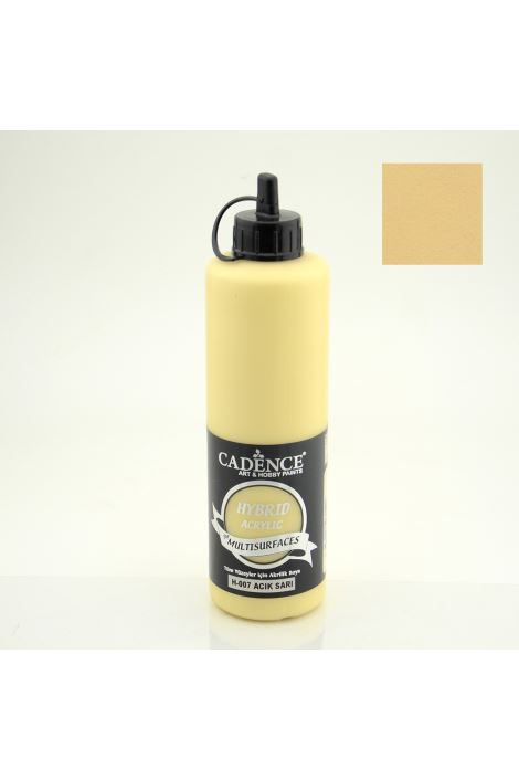 Cadence Hybrid Acryilic for Multisurfaces 500ml H-007 AÇIK SARI