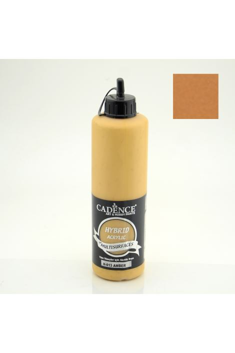 Cadence Hybrid Acrylic for Multisurfaces 500ml  H-013 AMBER