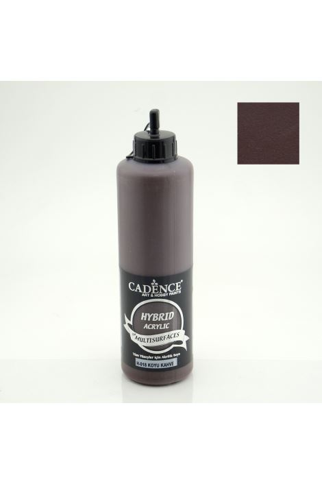 Cadence Hybrid Acrylic for Multisurfaces 500ml H-018 KOYU KAHVE