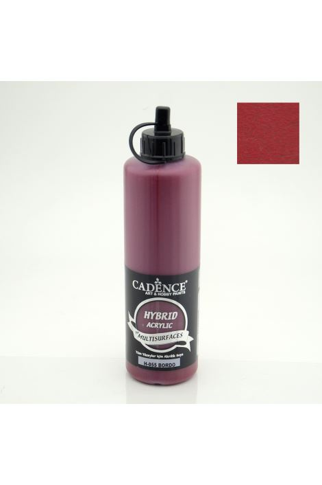 Cadence Hybrid Acrylic for Multisurfaces 500ml H-055 BORDO