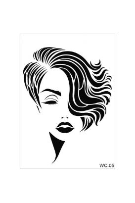Woman Collection A4 Stencil 05