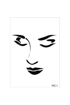 Woman Collection A4 Stencil 11