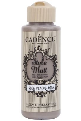 Cadence Style Matt Akrilik Vizon 120ml