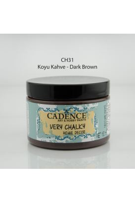 Cadence Very Chalky Home Decor Koyu kahve 150ml