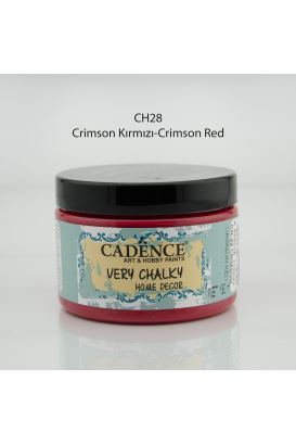 Cadence Very Chalky Home Decor Krimson kırmızı 150ml