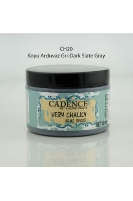 Cadence Very Chalky Home Decor Koyu Arduvaz Gri