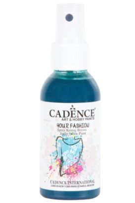 Cadence Your Fashion Sprey Kumaş Boyası Petrol 100ml