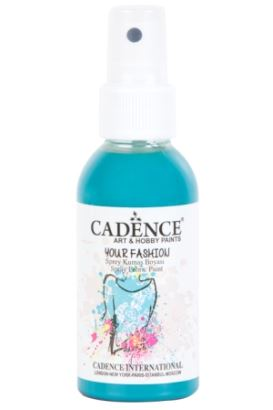 Cadence Your Fashion Sprey Kumaş Boyası Turkuaz 100ml