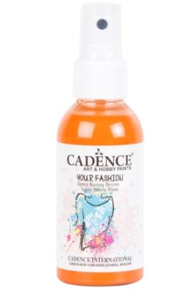 Cadence Your Fashion Sprey Kumaş Boyası Turuncu 100ml