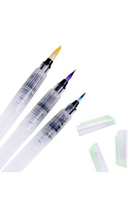 WATER COLOR BRUSH PEN SET ( 3 LÜ DOLDURMA FIRÇA )