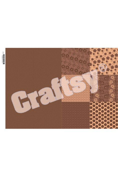 Craftsy Dekupaj Kağıdı Model 11