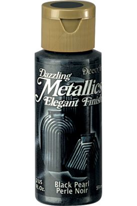 Decoart Metallıc Acrylıc Boya  Black Pearl 59ml