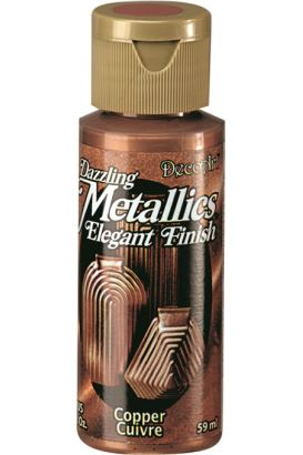 Decoart Metallıc Acrylıc Boya  Copper 59ml