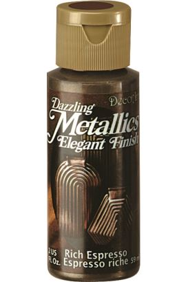 Decoart Metallıc Acrylıc Boya Glorious Gold 236ml Rich Espresso 59ml