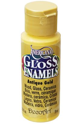 Decoart Enamels Acrylıc Purple 59ml Antique Gold 59ml
