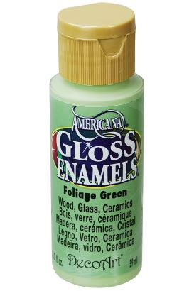 Decoart Enamels Acrylıc Purple 59ml Foliage Green 59ml