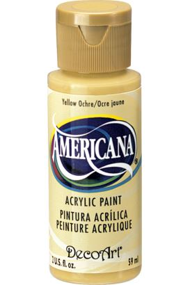 Decoart Yellow Ochre 59ml