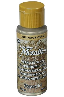 Decoart Metallıc Acrylıc Boya Glorious Gold 236ml Luminouns Gold 59ml