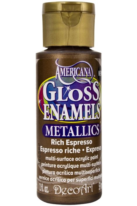 Decoart Enamels Acrylıc Purple 59ml Rich Espresso