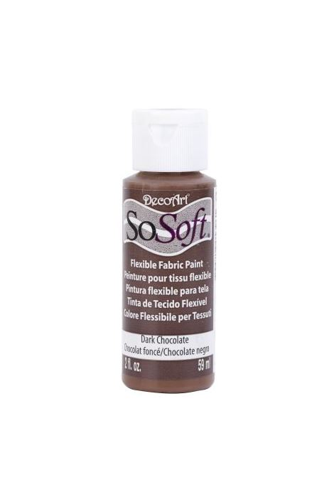 Decoart Sosoft Acrylıc Boya  Dark Chocolate