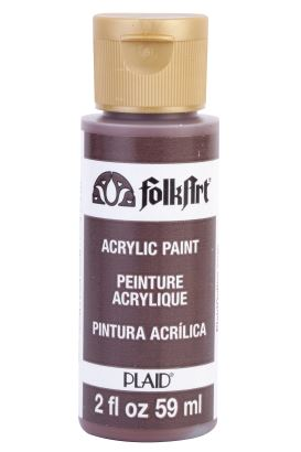 Plaıd Akrilik Boya  Dark Brown 59ml